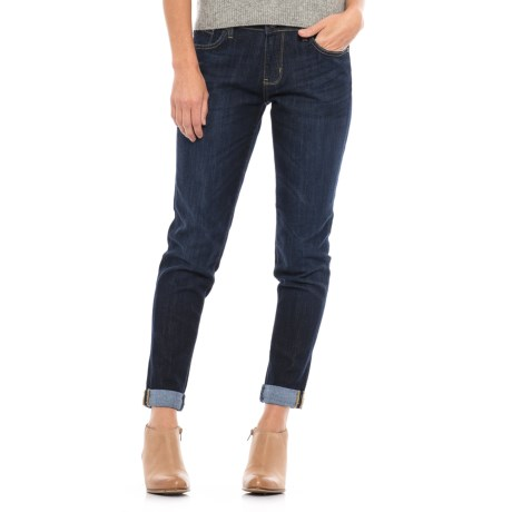 Dish dish denim Relaxed Skinny Jeans (For Women)