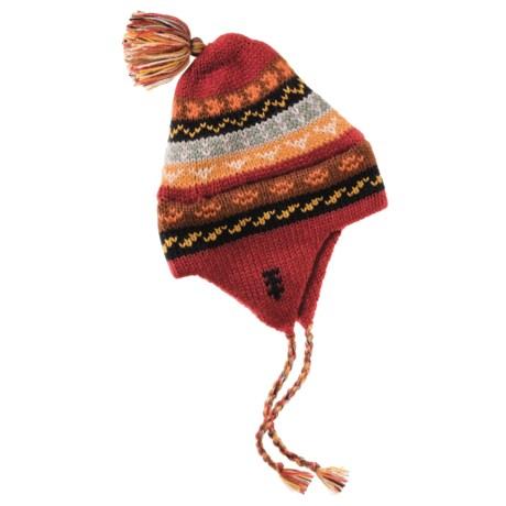 ML Kessler Chullo Hat - Alpaca Wool, Fleece Lined (For Men and Women)