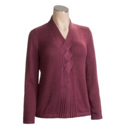 San York Roped Sweater - Alpaca Wool (For Women)