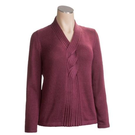 San York Roped Sweater - Alpaca Wool (For Women)