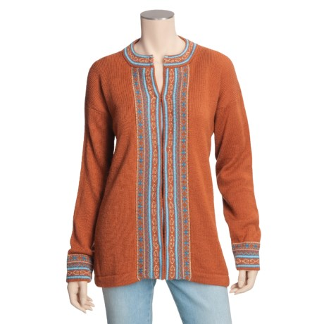 ML Kessler Alpaca Cardigan Sweater - Long Sleeve (For Women)