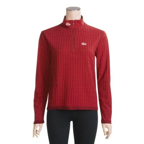 Lowe Alpine Warm Zone Shirt - Aleutian® Fleece, Long Sleeve (For Women)
