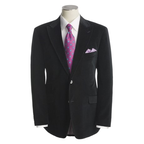 Kroon Velvet Sport Coat - Cotton-Modal, Peak Lapels (For Men)