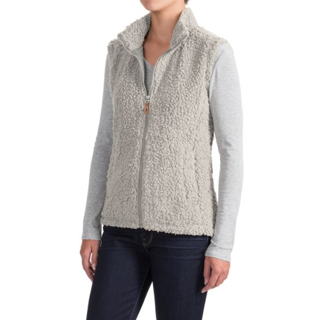 Royal Robbins Snow Wonder Fleece Vest - UPF 50+, Full Zip (For Women)