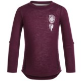 Silver Jeans Dream Catcher Lace Shirt - Long Sleeve (For Little Girls)