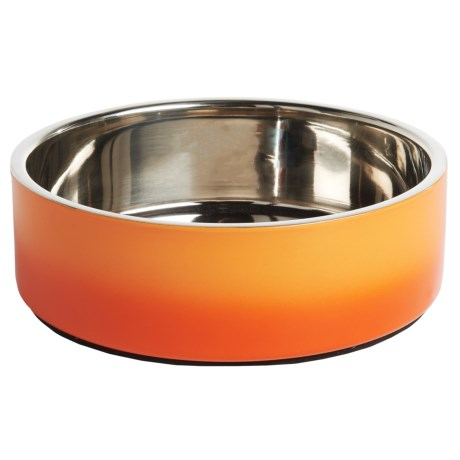 DOGHAUS Gradient Dog Bowl - Stainless Steel