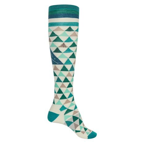 SmartWool Charley Harper Gay Forest Gift Wrap Socks - Over the Calf (For Women)