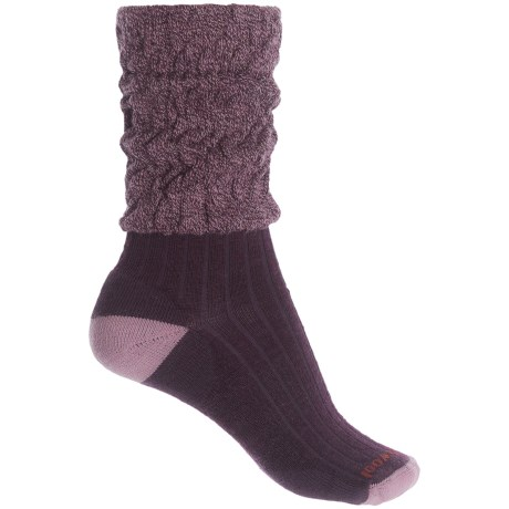 SMARTWOOL SHORT BOOT SLOUCH SOCKS (For Women)