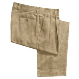 Rendezvous by Ballin Corduroy Pants - Stretch Microfiber, Pleated (For Men)
