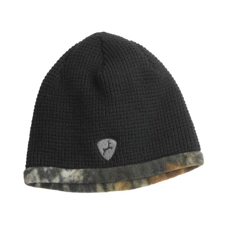Jacob Ash Hot Shot Fleece-Knit Beanie Hat - Reversible (For Men)