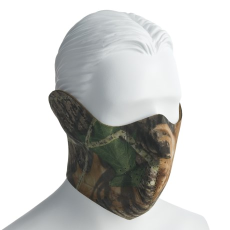 Jacob Ash Hot Shot Neoprene Camo Face Mask (For Men)