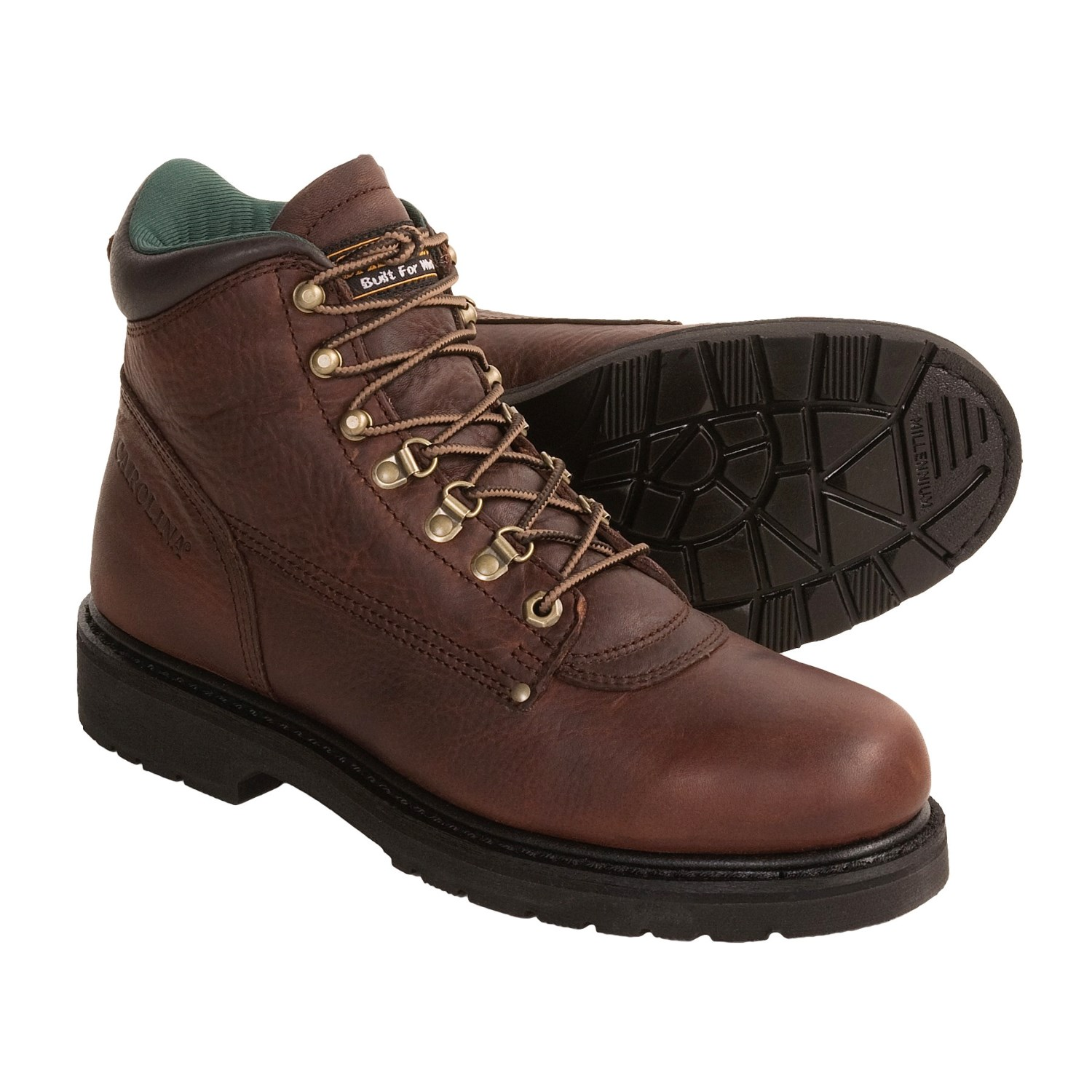 carolina shoe leather work boots for 2805m save 35
