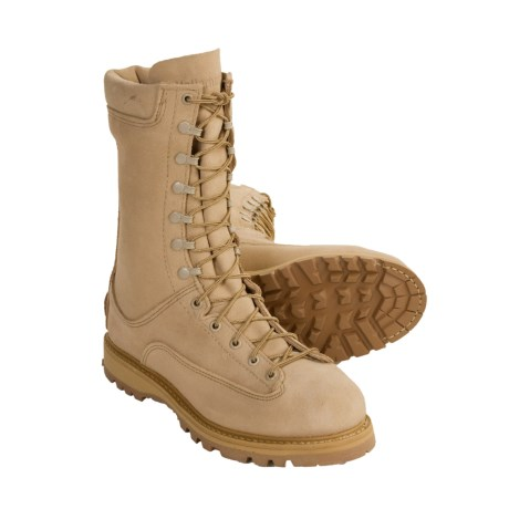 Matterhorn Gore-Tex® Leather Tactical Boots - Waterproof, Insulated, Lace-to-Toe (For Men)
