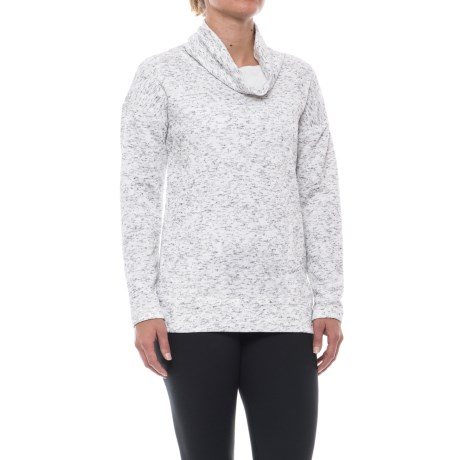 RBX Quilted Funnel Neck Sweatshirt (For Women)