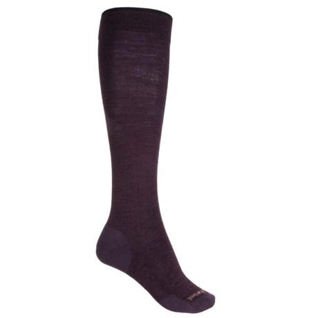 SmartWool Basic Knee-High Socks - Merino Wool, Over the Calf (For Women)