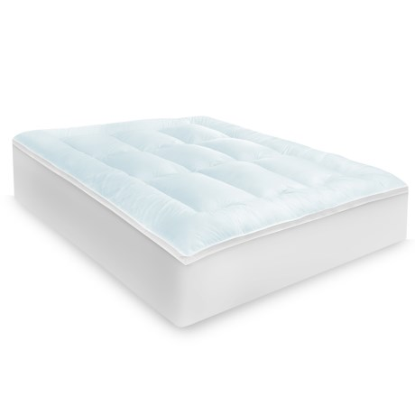 "Soft-Tex Cloud 3"" Mattress Pad Topper - Queen"