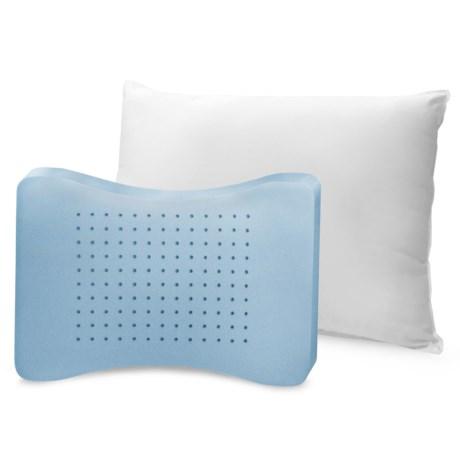 SensorPEDIC MemoryLOFT® Classic White Pillow - Standard