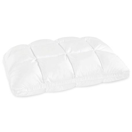 Soft-Tex Down-Alternative Baffle-Box Dual-Layer Pillow - Standard