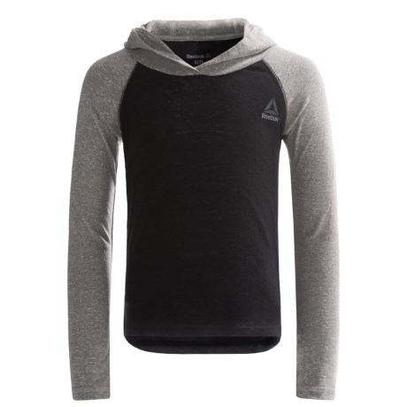 Reebok Color-Block Hoodie Shirt - Long Sleeve (For Big Kids)