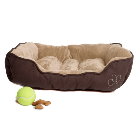 """Beatrice Home Fashions Cuddler Dog Bed - 24x18x6"""""""