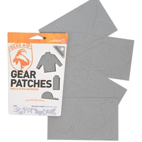 Gear Aid Tenacious Tape Kids Gear Patches - 4-Pack, 3x5""