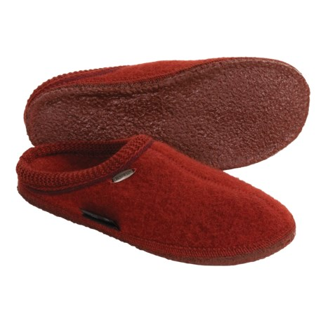 Giesswein Ammern Slippers - Boiled Wool (For Men and Women)