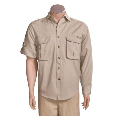 Sea Harbour Tech Twill Fishing Shirt - Long Sleeve (For Men)