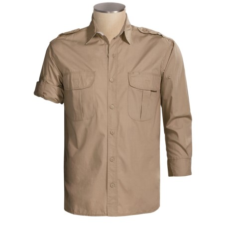 Sea Harbour Cruise Fishing Shirt - Long Sleeve (For Men)
