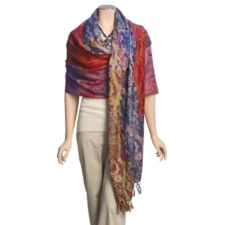 Balbianello Wool Shawl (For Women)