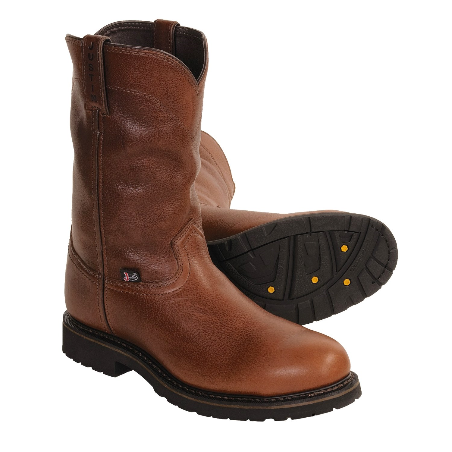 Justin Boots Wellington Work For Men 2817R Save 36