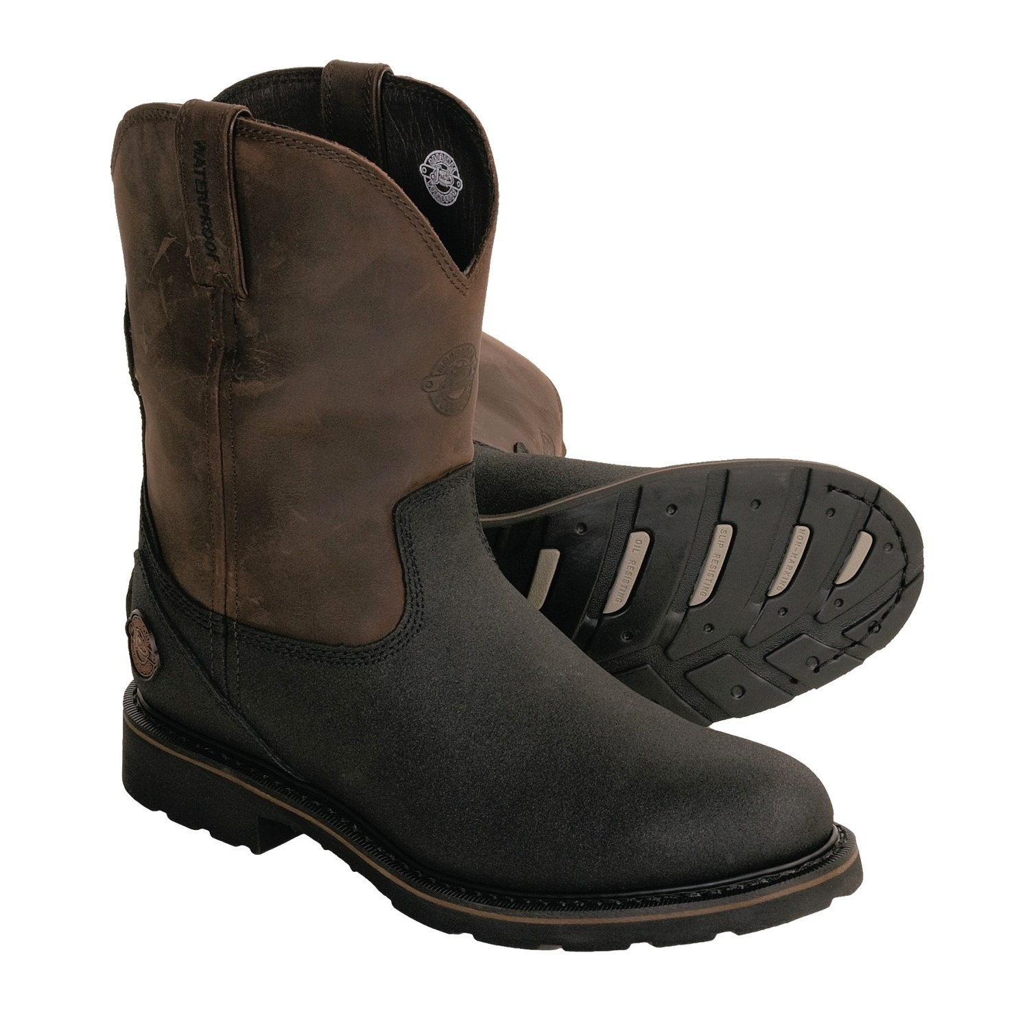 Justin Boots Tuff-Tec Wellington Work Boots (For Men ...