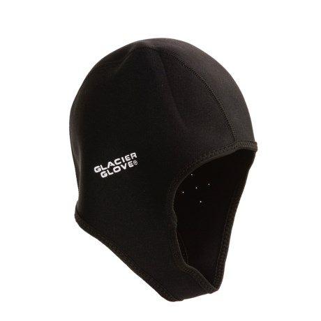 Glacier Glove 3/4 Dome Paddling Cap - Chin Strap, Neoprene (For Men and Women)