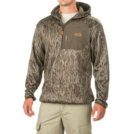 Drake Non-Typical Endurance Hoodie - Zip Neck (For Men and Big Men)