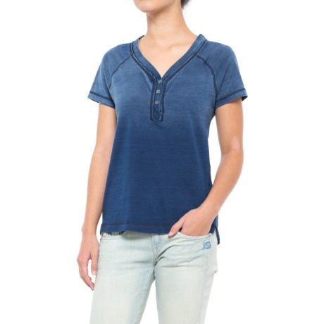Gramicci On the Go Henley Shirt - Short Sleeve (For Women)