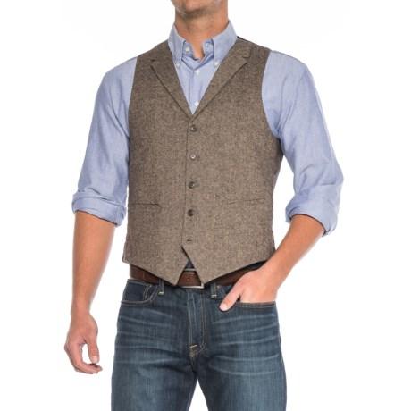 James Campbell Donegal Vest - Wool Blend (For Men)