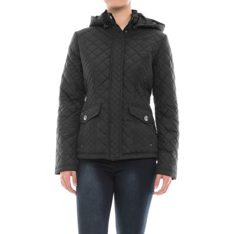 Weatherproof Waist-Length Quilted Jacket - Insulated (For Women)