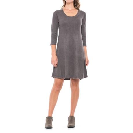 Premise Trapeze Sweater Dress - Long Sleeve (For Women)