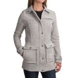 Weatherproof Full-Length Sweater Jacket (For Women)