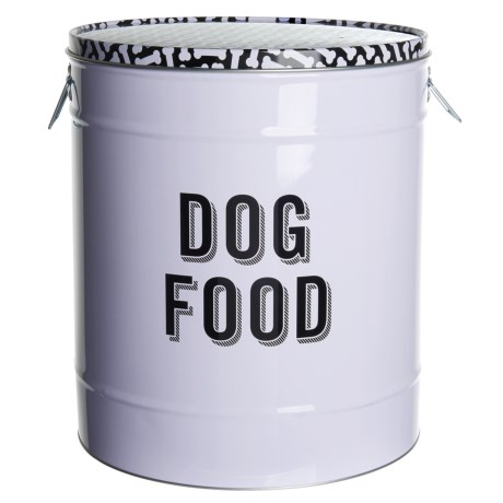 Fringe Studio Retro Dog Food Storage Tin - 11.8x14""