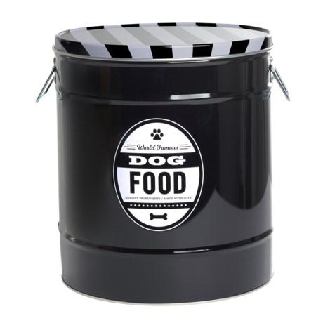 Fringe Studio Dog Food Storage Tin - Large