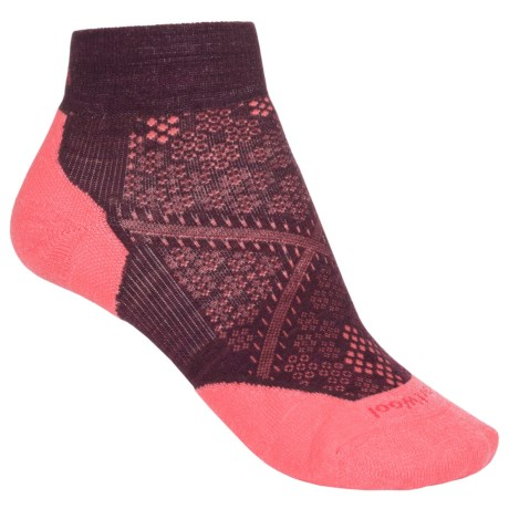 SmartWool PhD Run Elite Low-Cut Socks - Merino Wool, Ankle (For Women)