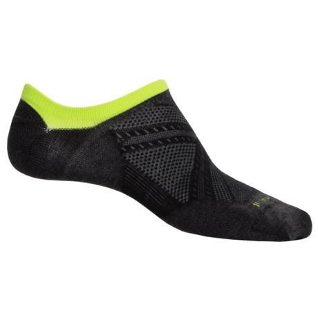 SmartWool PhD V2 Run Ultralight Running Socks - Merino Wool, Below the Ankle (For Men And Women)