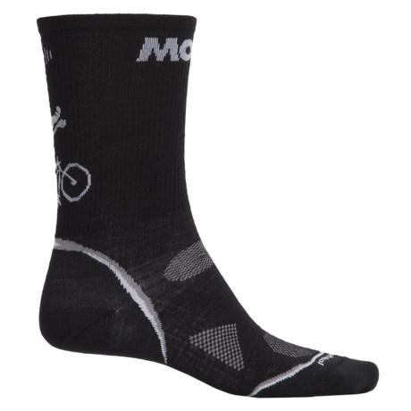 SmartWool PhD Cycle Ultralight Socks  - Merino Wool-Nylon, Crew (For Men and Women)