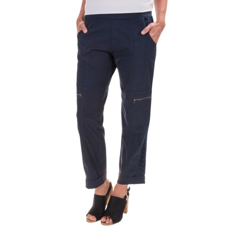 XCVI Iezabel Stretch Poplin Pants (For Women)