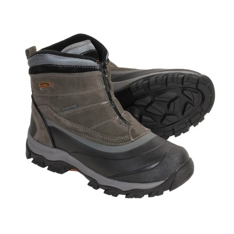 Khombu Summit Zip Boots (For Men)