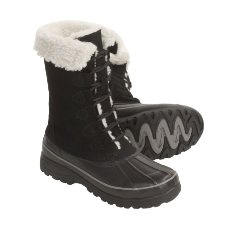 Khombu Highland Suede Boots (For Women)
