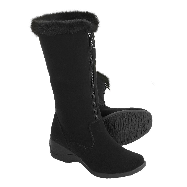 Amazing  Khombu Katie Apres Ski Boots  Waterproof Insulated Suede For Women