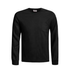 Hanes Heavyweight Pocket T-Shirt - Long Sleeve (For Men)