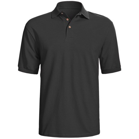 Hanes Stedman Sport Polo Shirt - Cotton Pique, Short Sleeve (For Men)