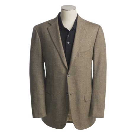 Isaia Birdseye Sport Coat - Wool-Cashmere (For Men)